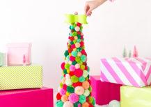 Colorful-pom-pom-Christmas-tree-217x155