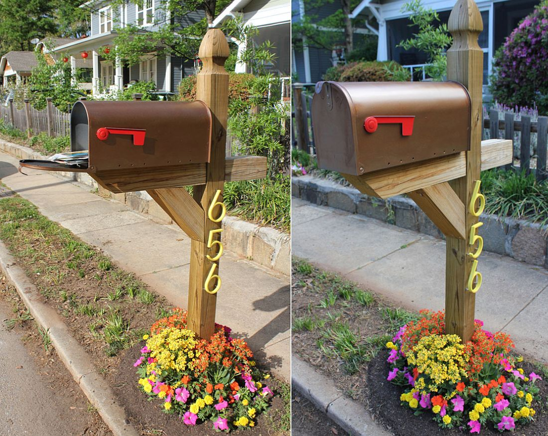 Creating the perfect space for your mailbox!