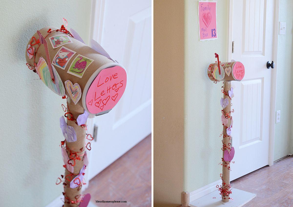 Custom Valentines Mailbox idea