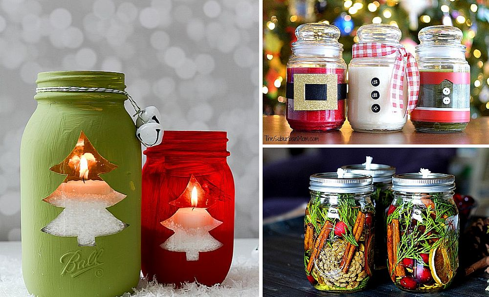 Diy Christmas Candles Easy Mason Jar Holiday Candles