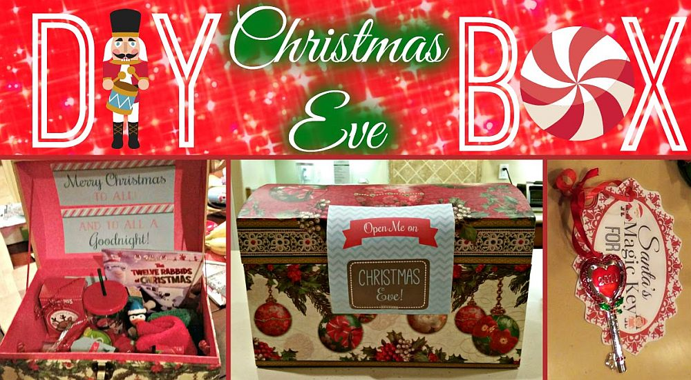 DIY Christmas Eve gift box