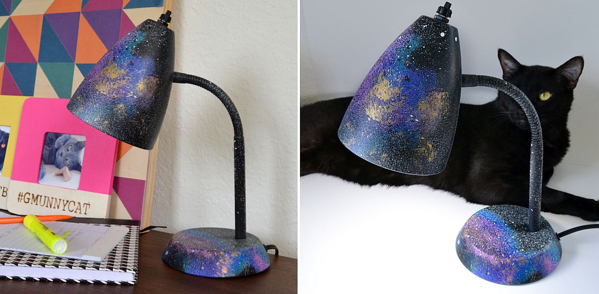 DIY Galaxy Desk Lamp