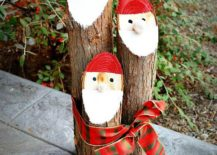 DIY-Santa-Logs-to-decorate-the-outdoors-with-Christmassy-charm-217x155