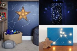 Nebulas and Night Sky: DIY Crafts that Add Starry Brilliance to Your Home