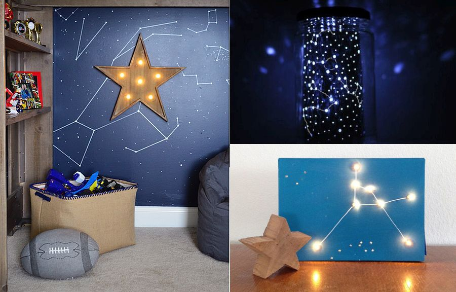 Diy Crafts That Add Starry Space Themed Brilliance To Your