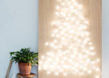 DIY-String-Light-Christmas-Tree-217x155