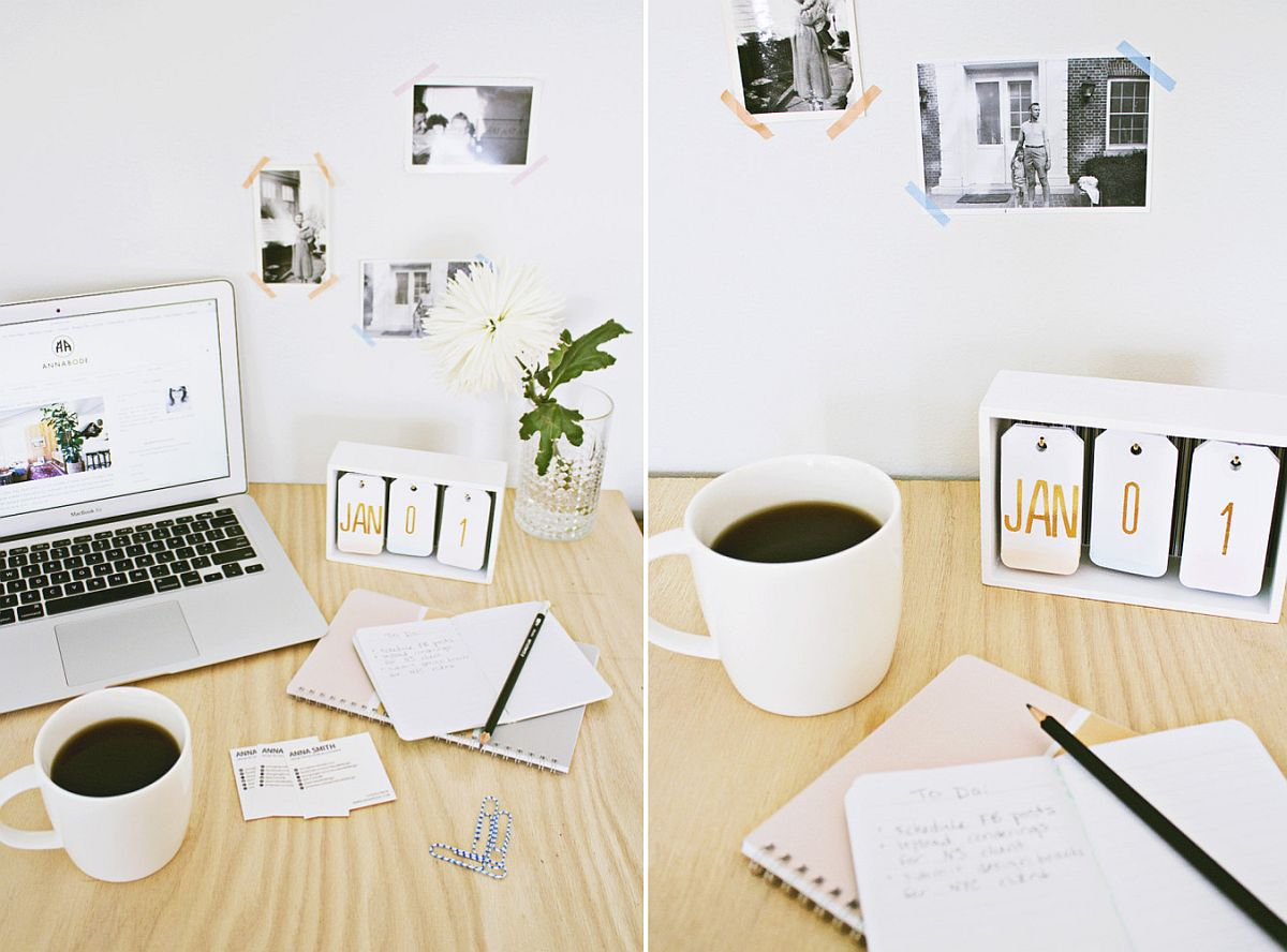 DIY-desk-calendar-with-a-touch-of-ombre-effect