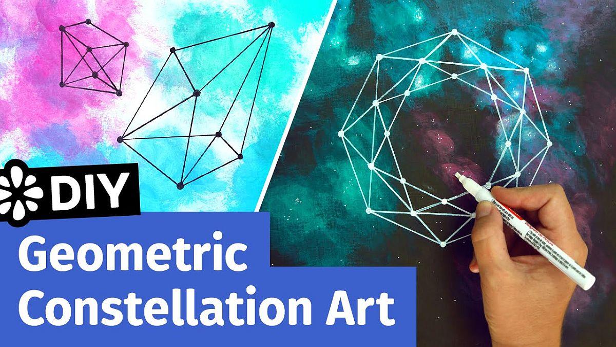 DIY-geometric-constellation-art