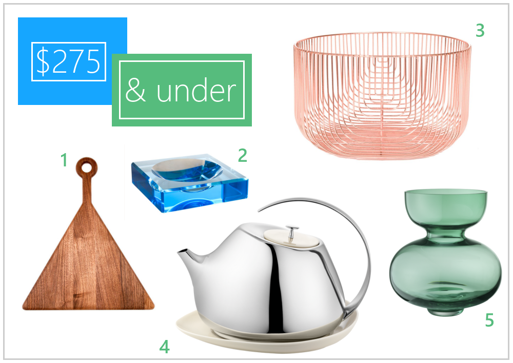 Decoist gift guide $275 and under