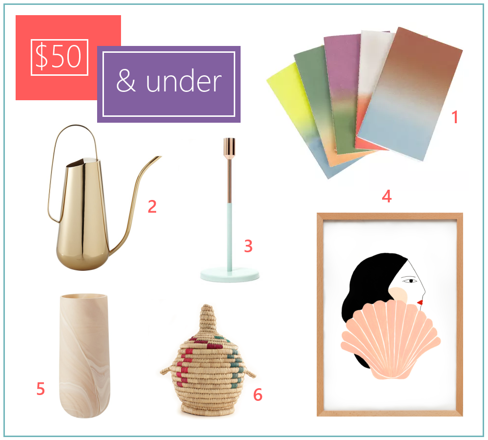Decoist gift guide $50 and under