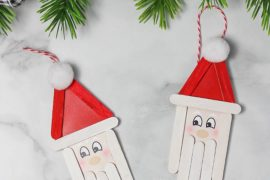 Bring Out the Inner Kid: Easy Santa Christmas Crafts for a Jolly Good Time!