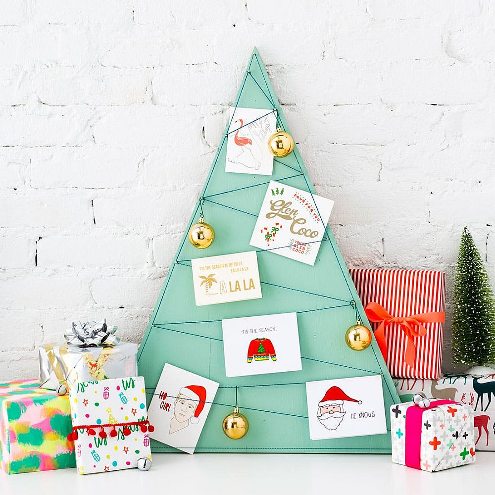 Display Your Holiday Cards for a Festive Decor Addition