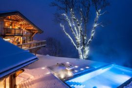 Magical Winter Vacation with Unrivalled Extravagance: Chalet Grande Corniche