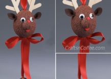 Making Your Own Reindeer Themed Christmas Decorations Is Easy And You Need No More Than A Few Hours This Weekend To Try Out Most Of Them