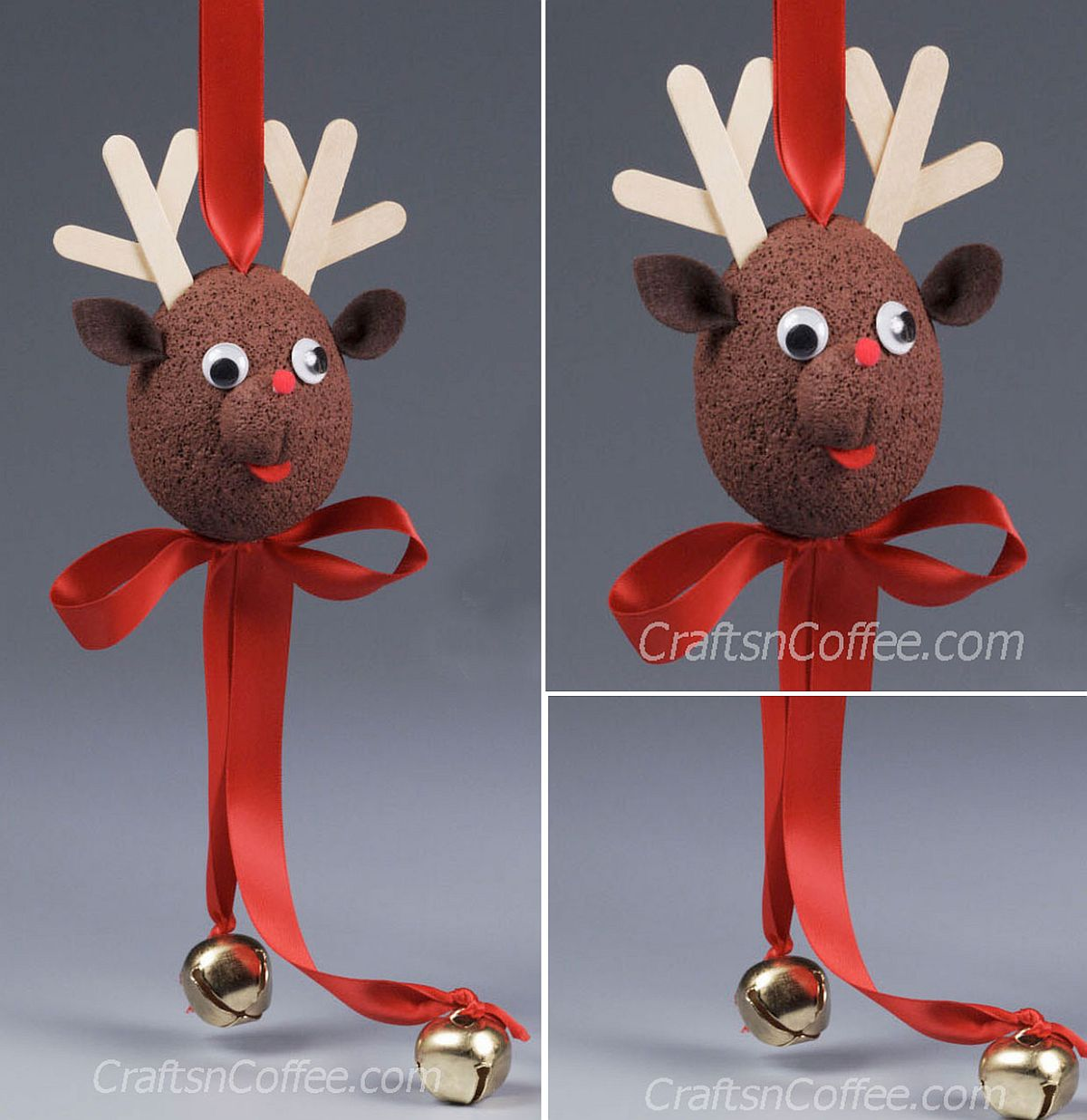 15 DIY Reindeer Crafts to Give Your Christmas Celebrations ...