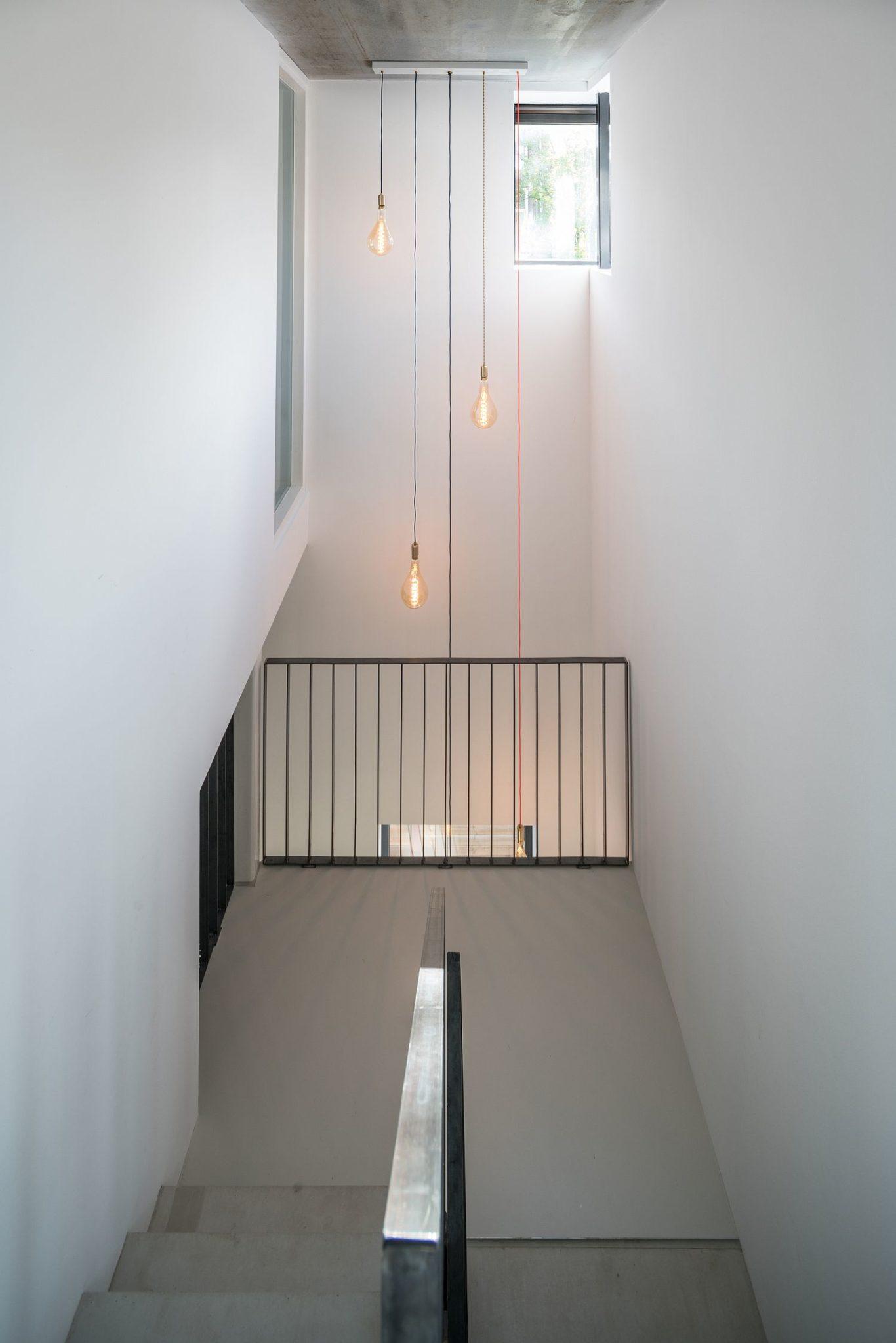 Edison-bulb-lighting-illuminating-the-stairway