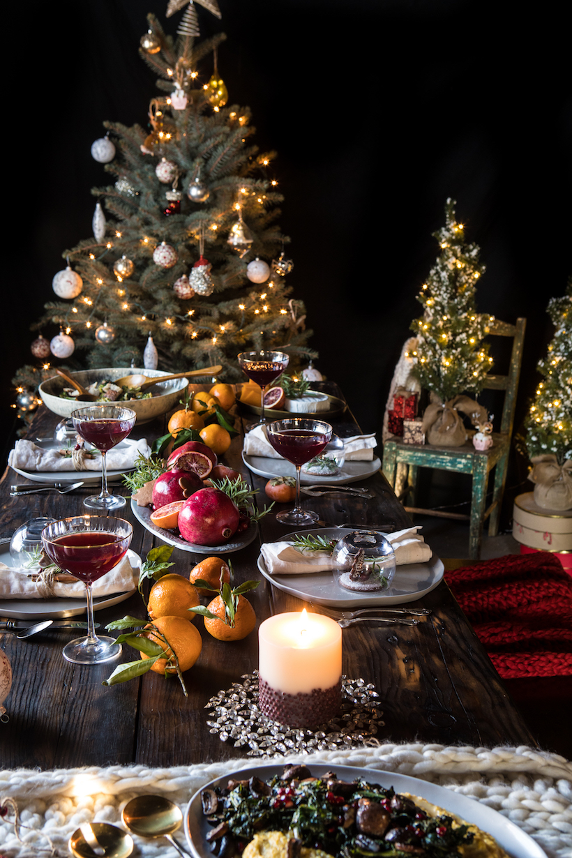 Elegant rustic holiday style