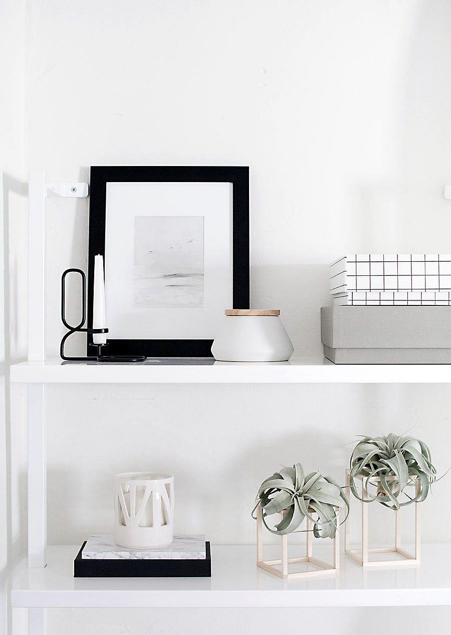 Exquisitely-minimal-DIY-plant-stand-idea