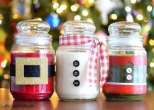 diy christmas candles bring together many different aspects of the festive season they add a lovely timeless visual element to your holiday decorating