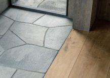 Flooring-of-the-cabin-brings-together-wood-and-stone-217x155