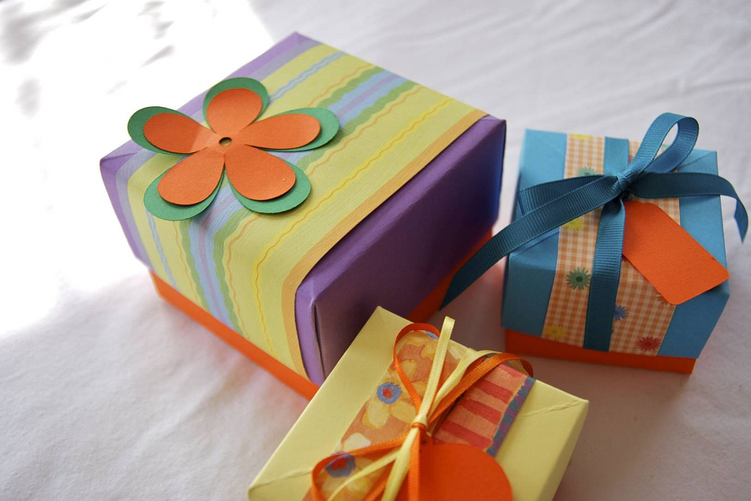 Fun DIY Paper Gift Boxes