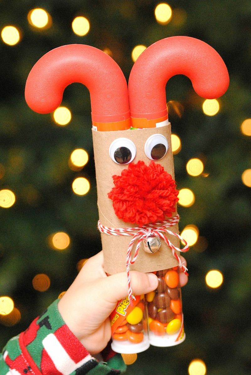 Fun reindeer Christmas Craft