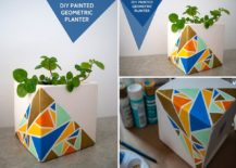 Homemade-geo-style-painted-planter-217x155