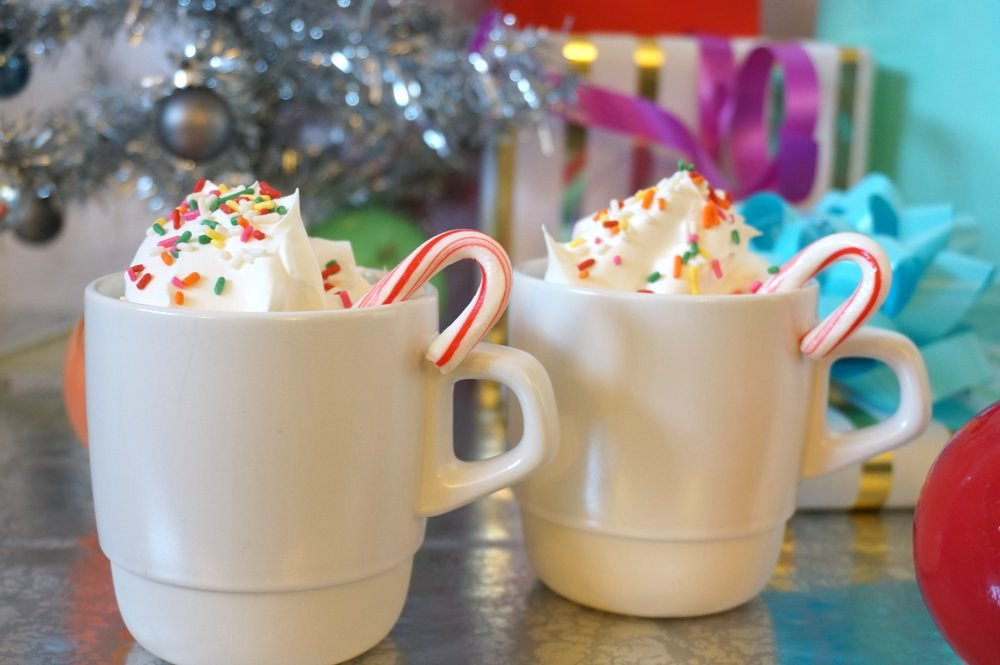 Hot chocolate is the perfect party drink