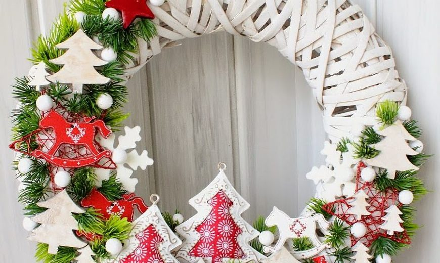 Festive DIY Holiday Season Wreaths as You Gear Up for Christmas