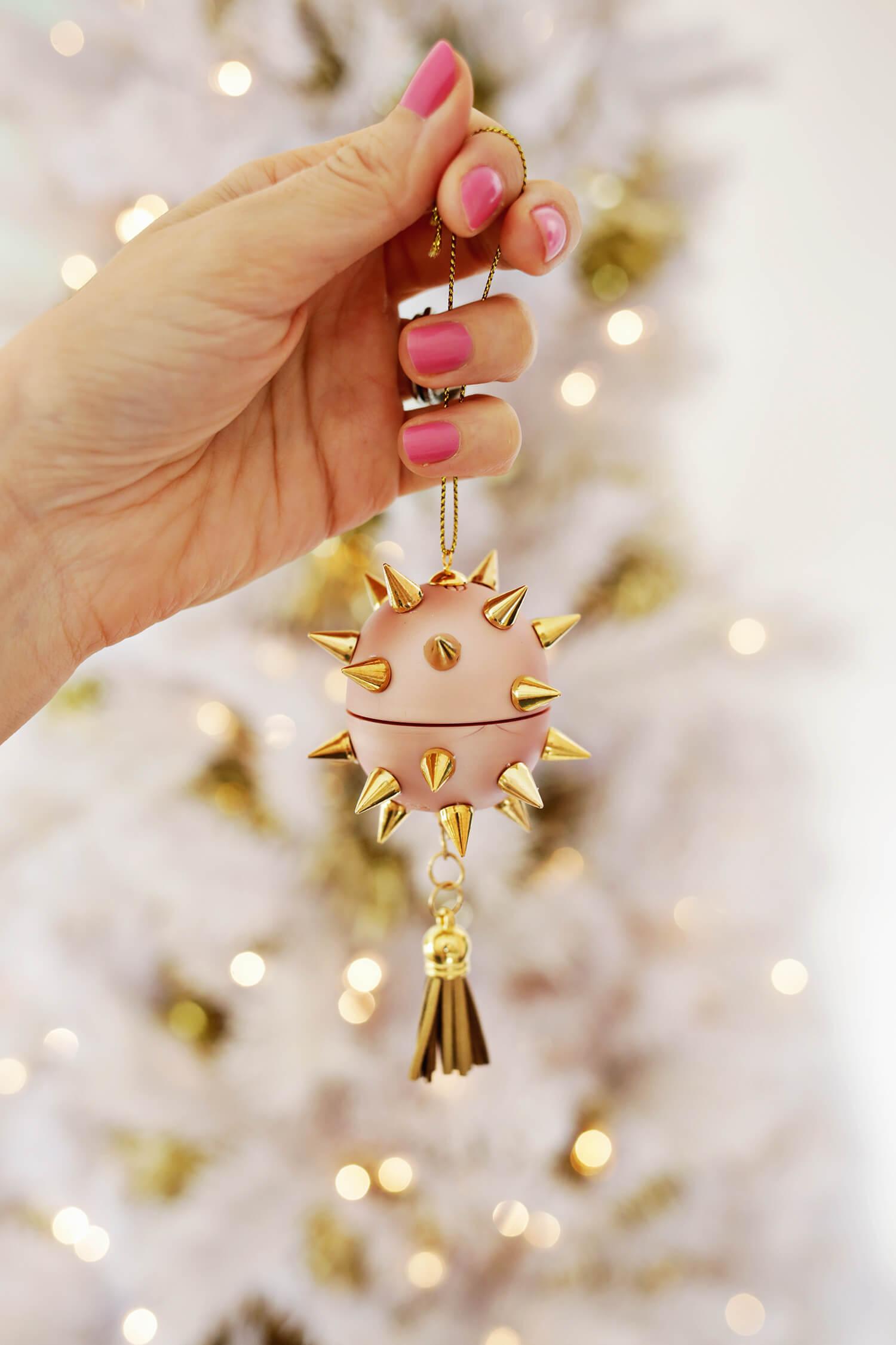 Lip balm ornament idea