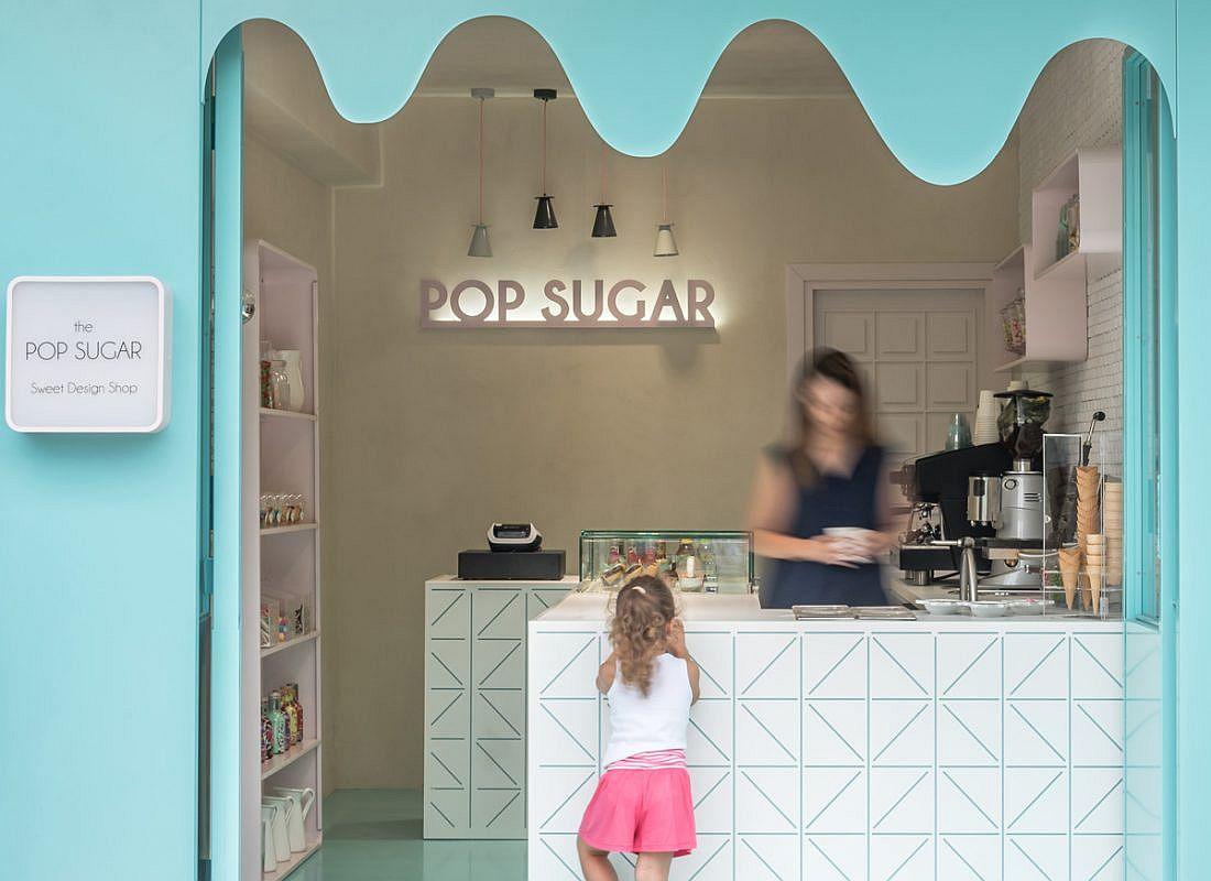 Pop Sugar Sweet Design Shop in Stavros, Greece