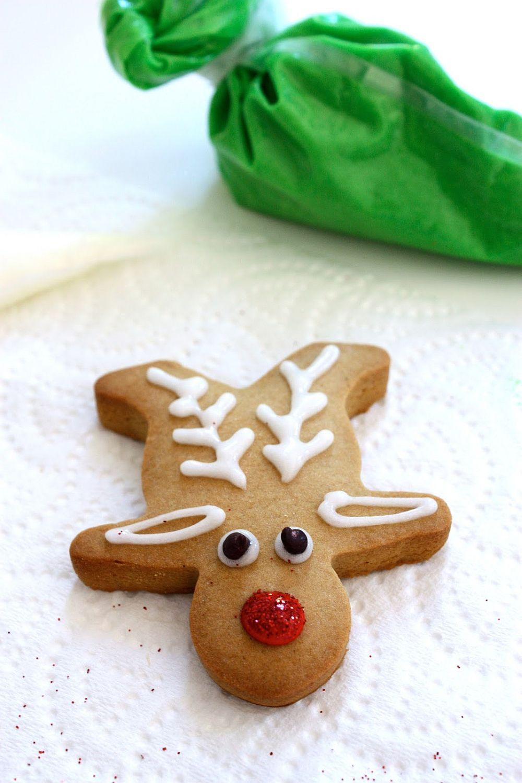 Rudolf the red nosed reindeer Cookie