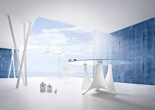 Sculptural-and-round-outdoor-table-for-the-minimal-modern-deck-217x155