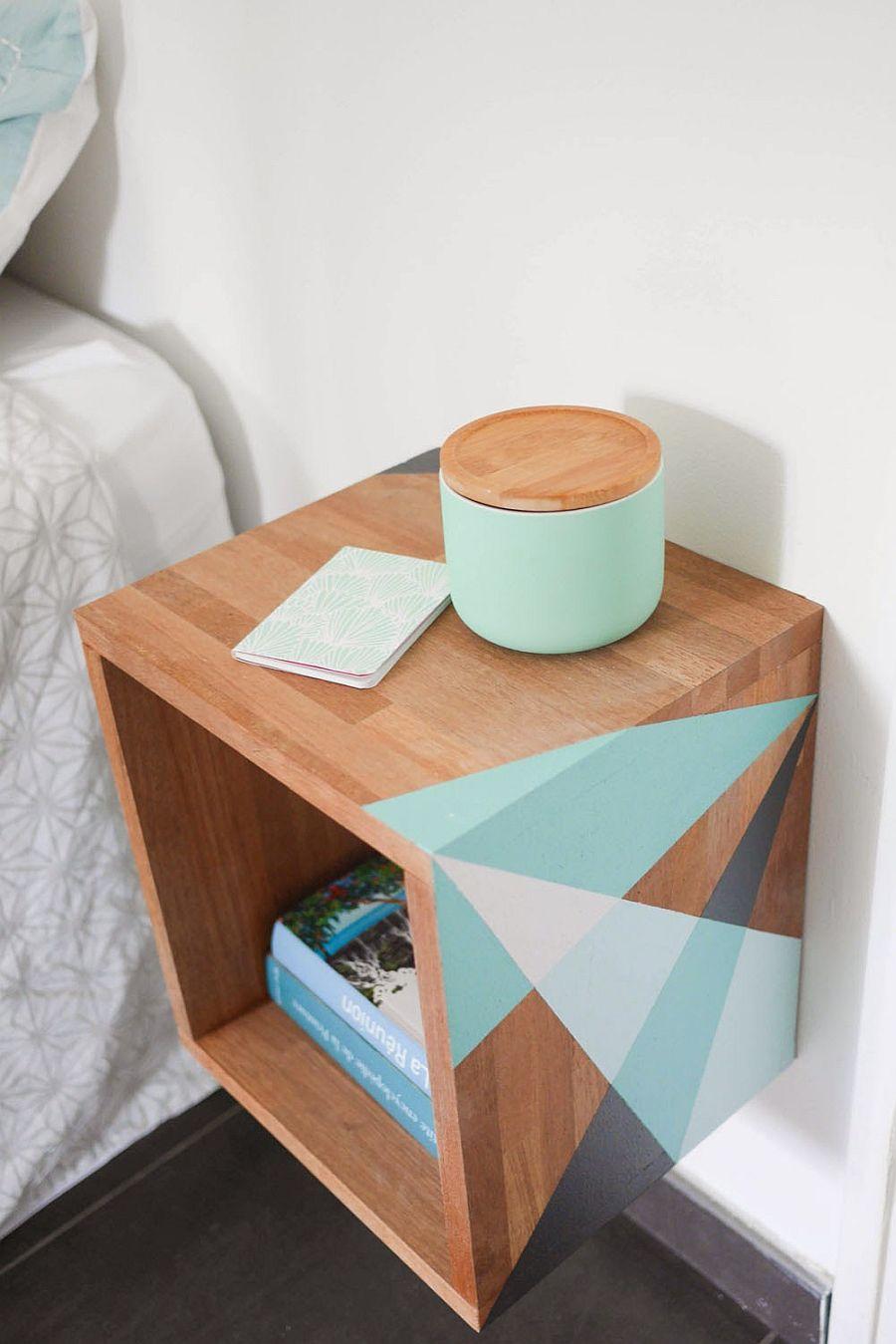Space-savvy-bedside-DIY-nightstand-idea