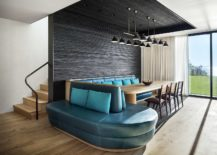 Stunning-banquet-dining-in-turquoise-blue-and-minimal-wooden-table-217x155