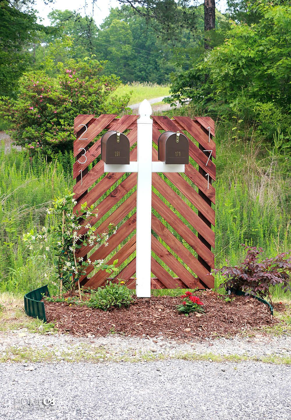 Turn-the-old-mailbox-into-a-trendy-modern-addition-with-a-tinge-of-bonze