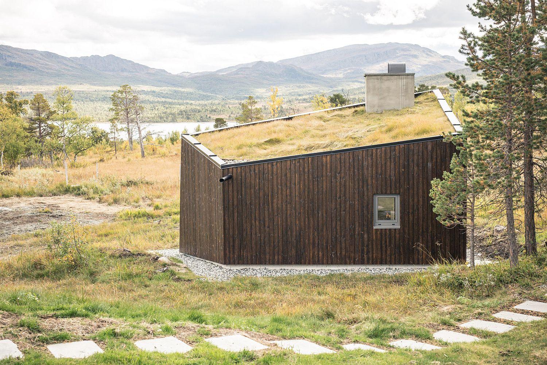Viewpoint Granasjøen in Norway
