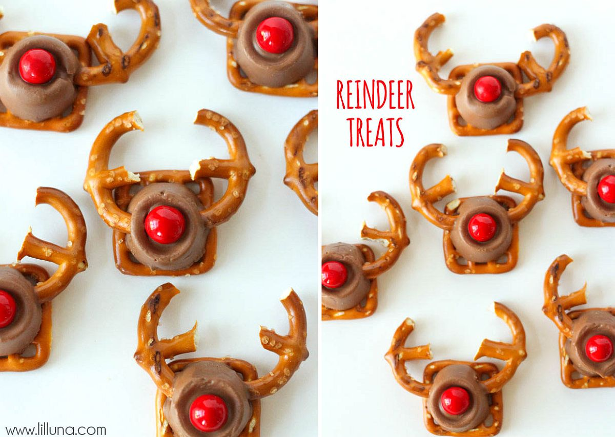 Yummy Christmas treats with Reindeer design