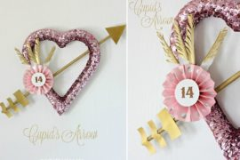 12 Fabulous Valentine's Day DIY Wreaths that Captivate