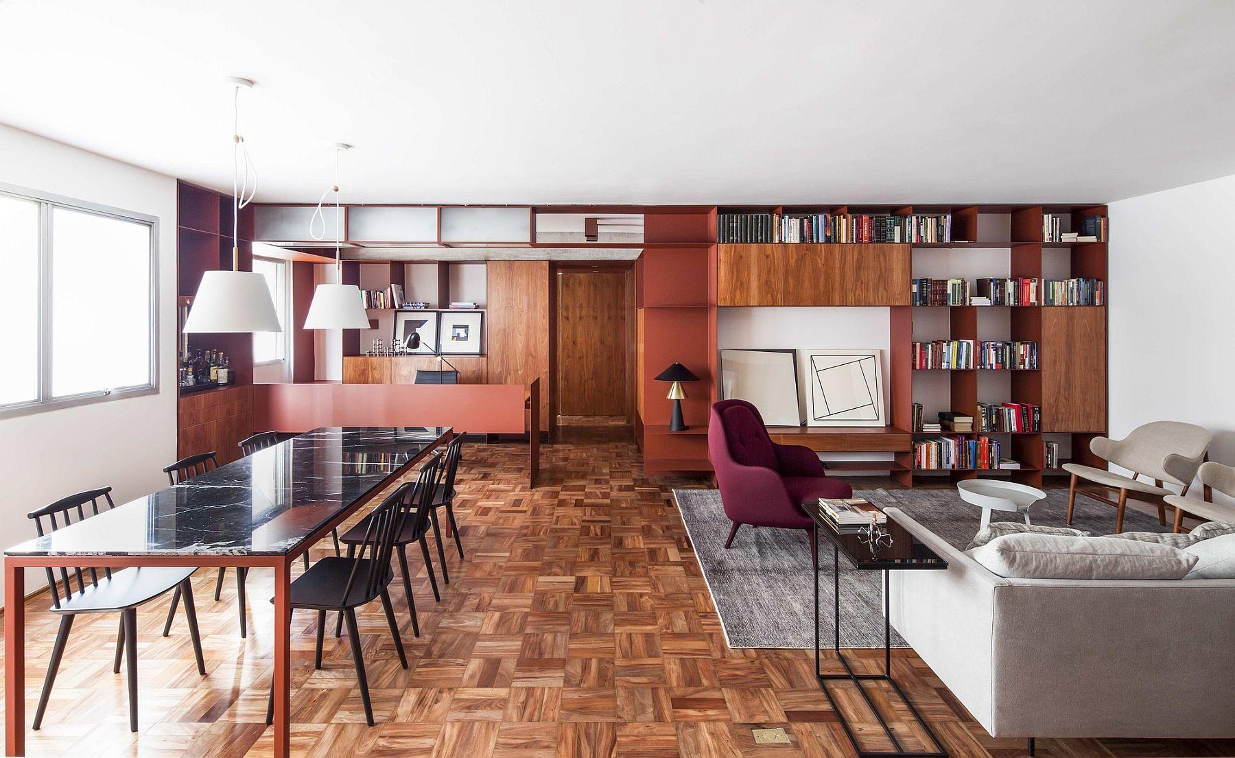 Bright and beautiful terracota apartment in Sao Paulo