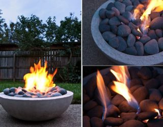 A Cozy, Dreamy Winter: Affordable and Easy to Build DIY Fire Pits