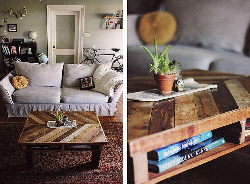DIY-pallet-wood-table