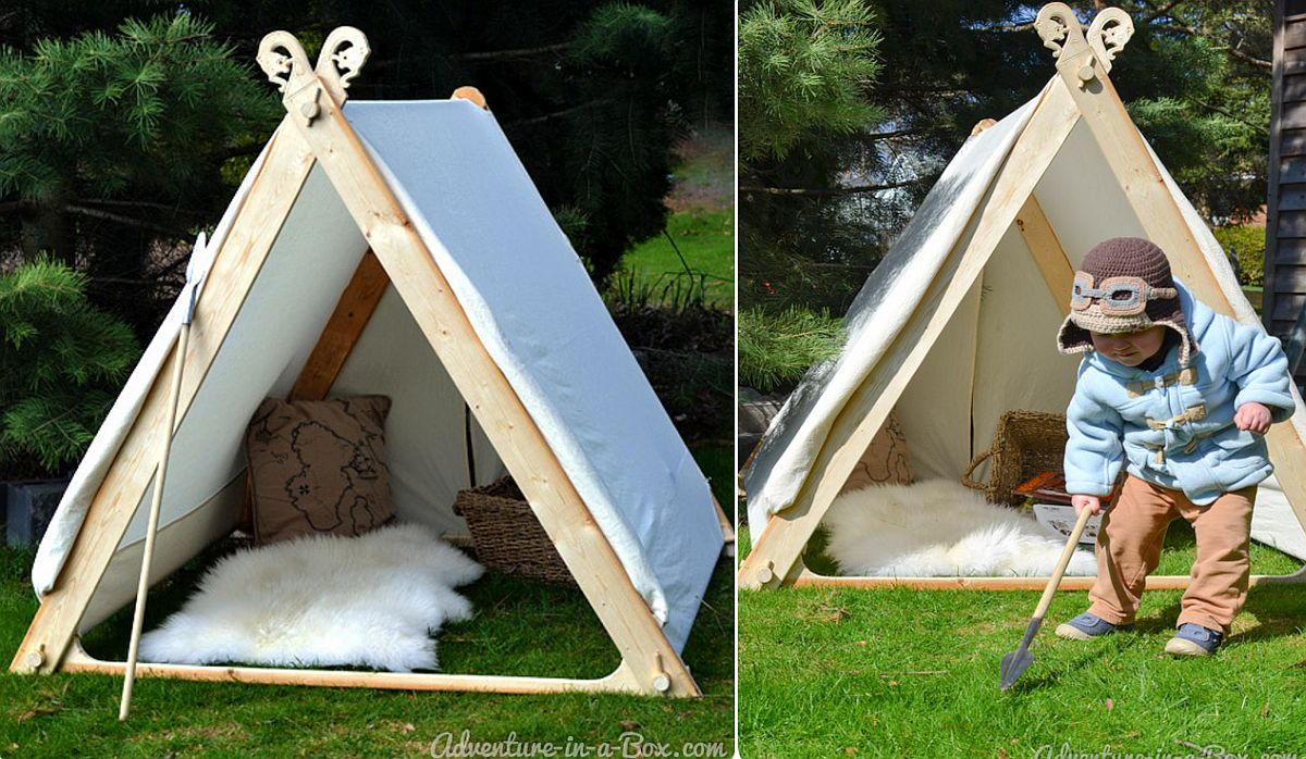 15 Diy Teepees For Fun Kids Playrooms