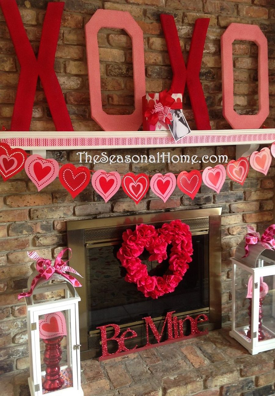 Decorate your home beautifully for Valentine's Day
