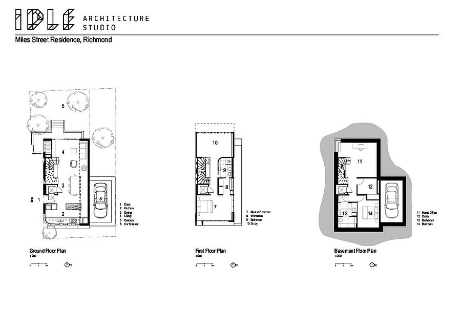 Floor-plan-of-different-level-of-the-Empty-Nester