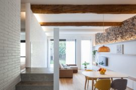 Finding Space and Visual Freshness: Remodeled Flat in Olot
