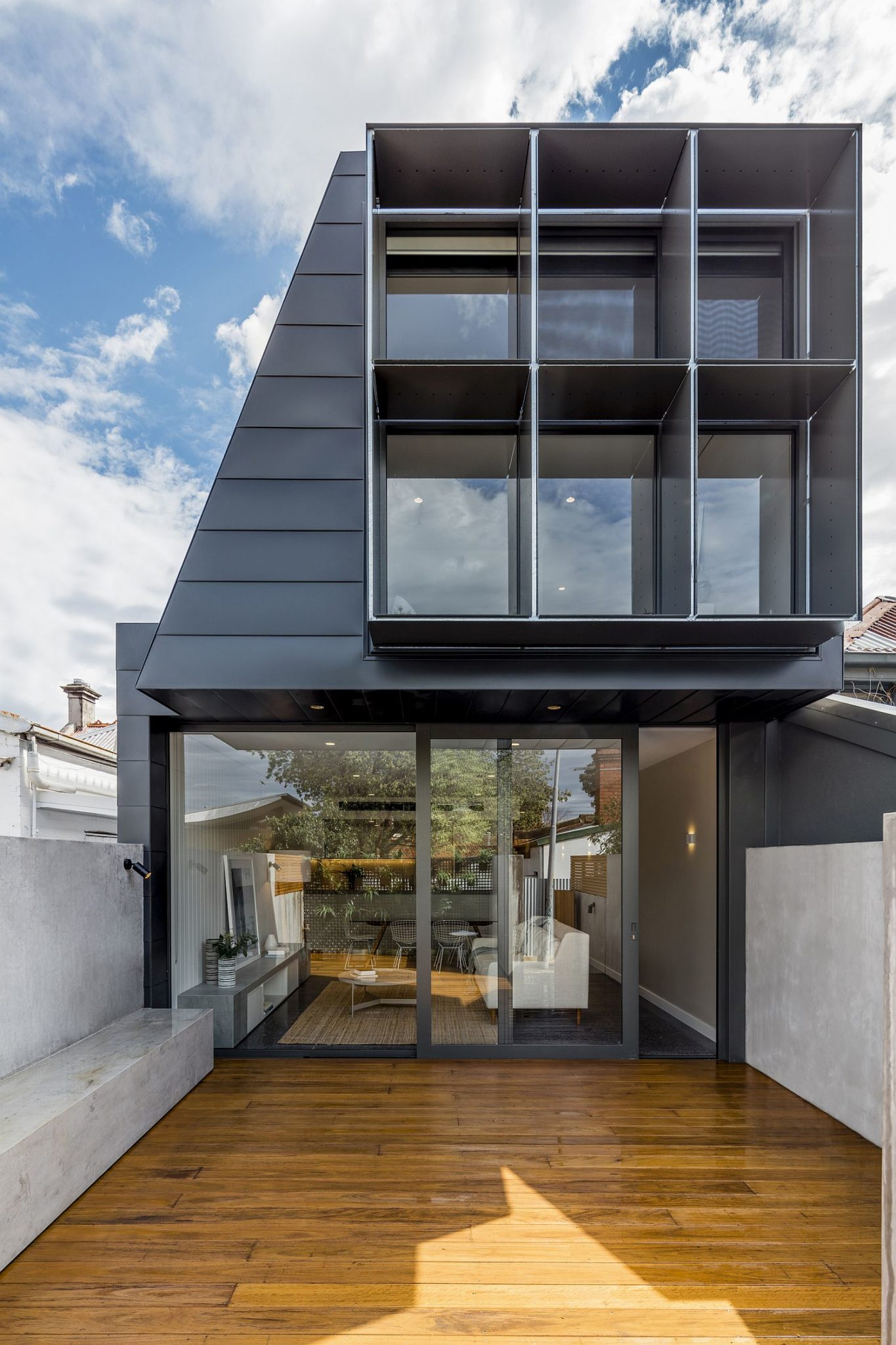 Modern makeover of classic terrace home in Melbourne