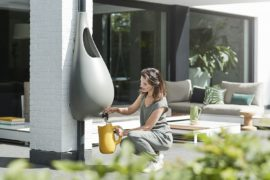 Raindrop Brings Rainwater Harvesting at Its Stylish Best to Your Garden