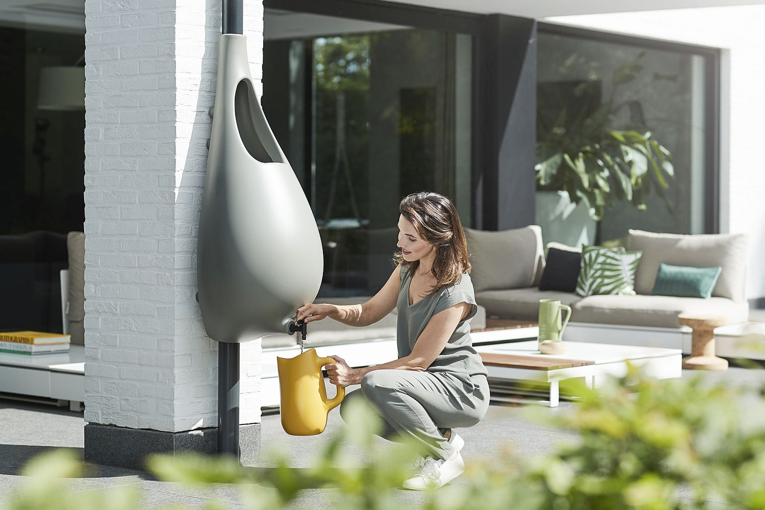 Raindrop Brings Rainwater Harvesting At Its Stylish Best