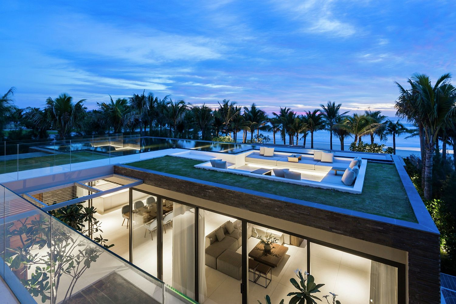 Naman Villa with its majestic pools and breathtaking gardens offers a world in itself
